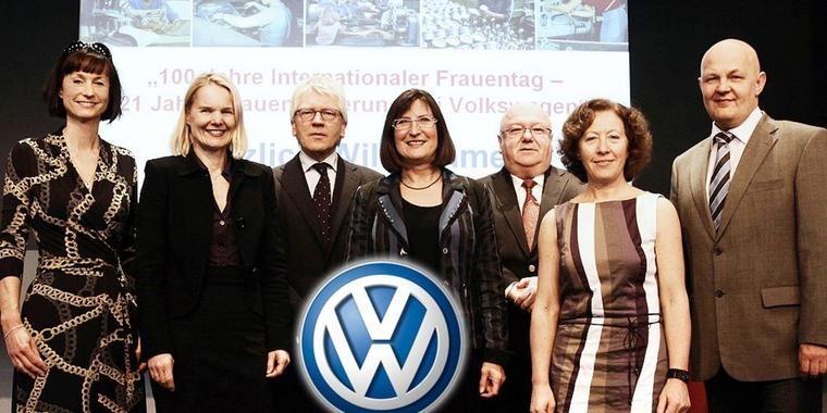 Volkswagen 100 Jahre Internationaler Frauentag