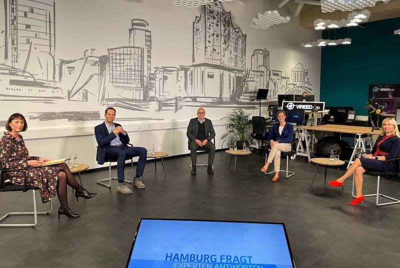 Hamburg fragt, Experten antworten, TV Sendung im Health Innovation Port bei Philips
